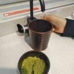 魚べいの緑茶