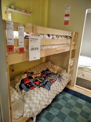 イケアの2段ベッド