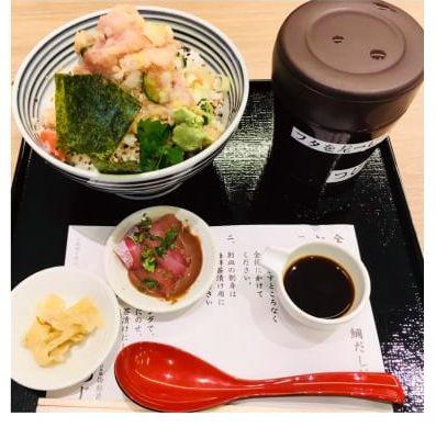 日本橋海鮮丼つじ半の丼ぶり