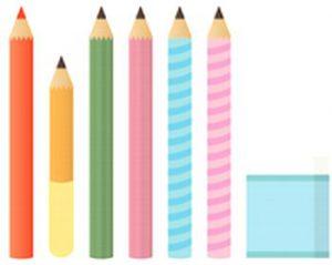 鉛筆の指定はBか2B