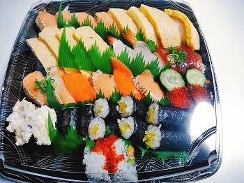 テイクアウトしたお寿司