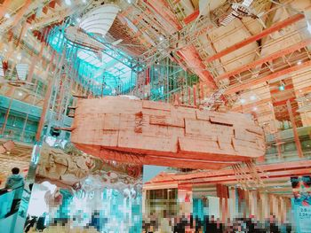 天空の城ラピュタの飛行船オブジェ