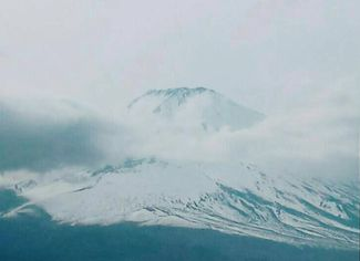 静岡県から見た富士山