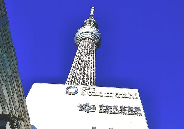 東京スカイツリーへ車で行った体験談