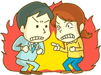 単身赴任の夫が妻と夫婦喧嘩