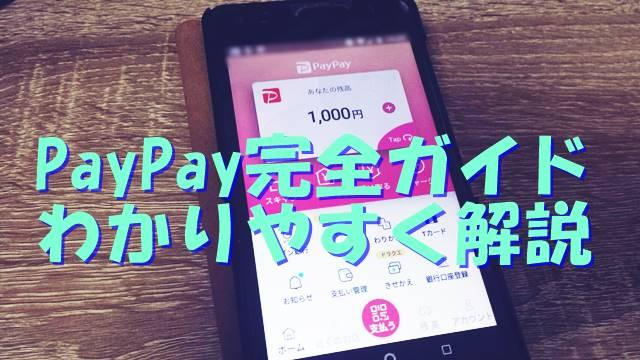 PayPayの完全ガイドわかりやすく解説