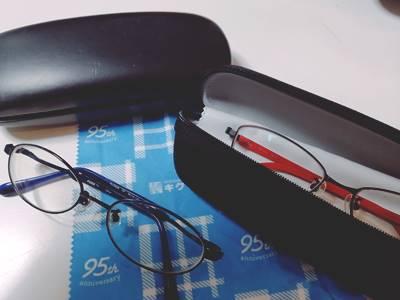 小学校から中学校で購入したメガネ