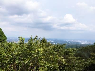 高尾山展望台からの景色