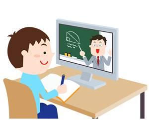N中等部の一斉授業時間以外の自習