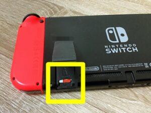 SwitchのSDカードスロットの位置